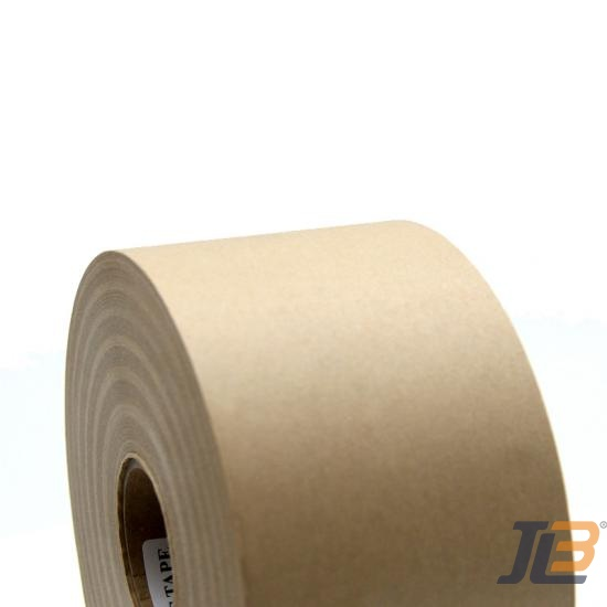 Recyclable And Repulpable Gummed Paper Tape