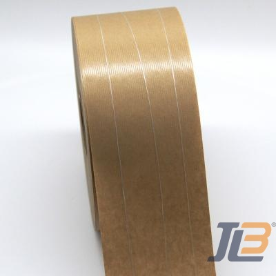 Three threads Curvy Reinforced Water Activated Gummed Tape JLN-5703S