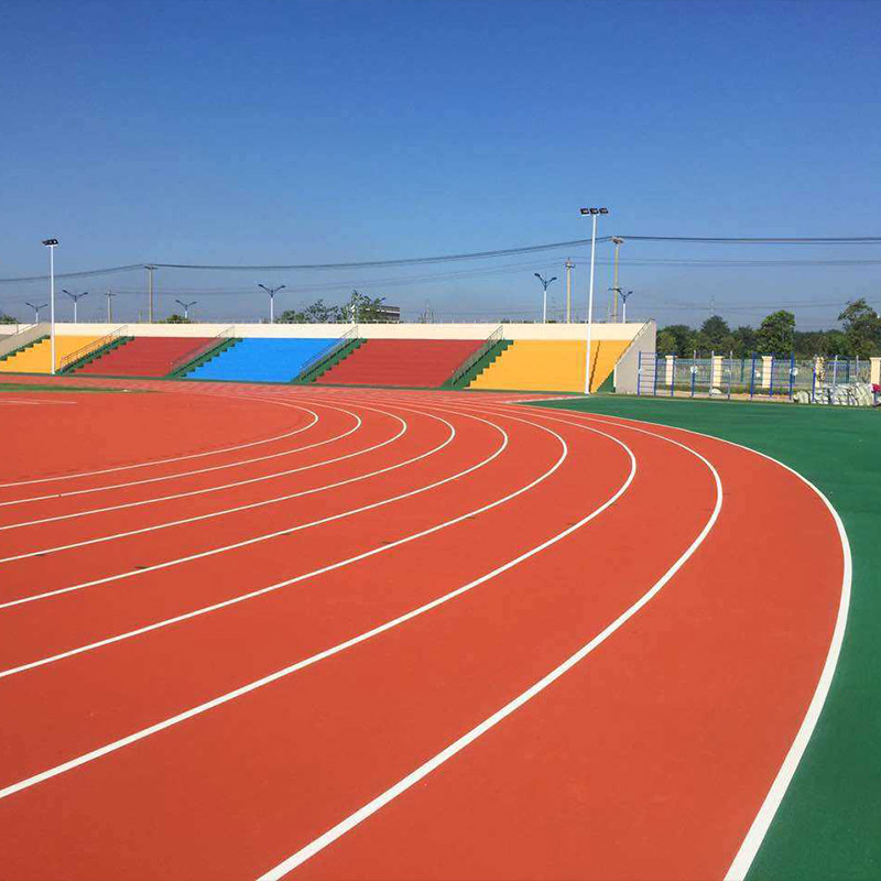 Rubberized Running Track